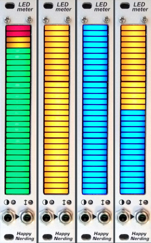 LED Meter_4 versions