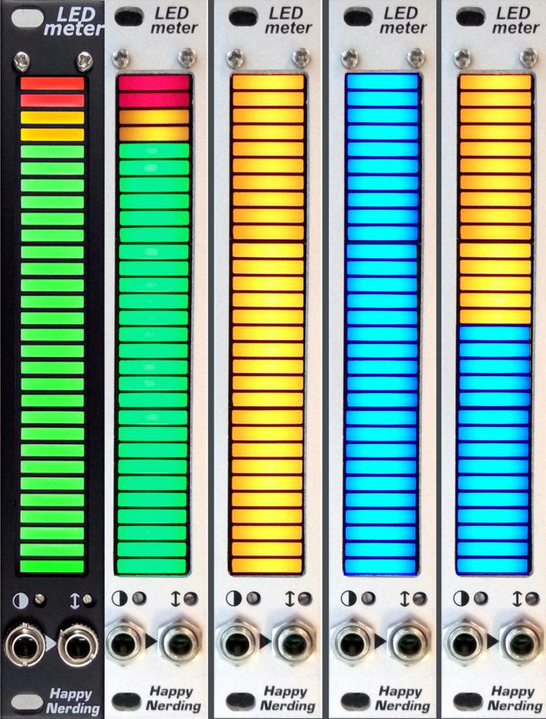 LED Meter_5 versions